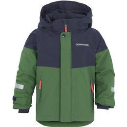 Didriksons Lun Kid's Jacket - Leaf Green (503385-423)