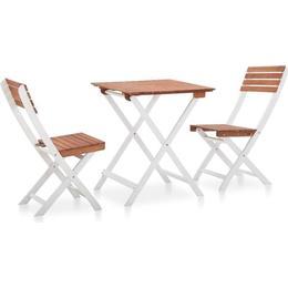 vidaXL 46323 Café Group, 1 Table inkcl. 2 Chairs