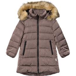 Reima Lunta Kid's Long Winter Jacket - Rose Ash (531416-4360)