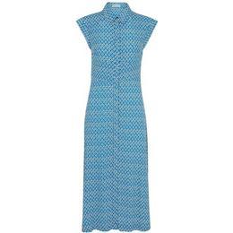 Whistles Astrix Floral Blue Dress - Blue/Multi