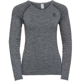 Odlo Performance Light Long-Sleeve Baselayer Top Women - Grey Melange