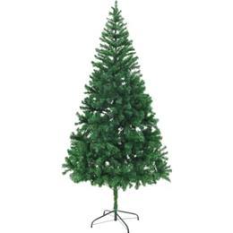 vidaXL Plastic Spruce 210cm Christmas tree Christmas decorations