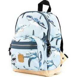 Pick & Pack Shark Backpack - Light Blue