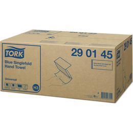 Tork Blue Singlefold Hand Towel 200-pack