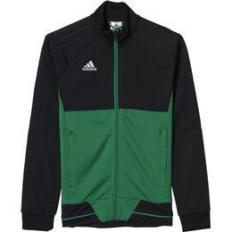 Adidas Tiro 17 Training Jacket Kids - Black/Green/White