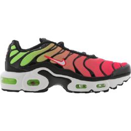 Nike Air Max Plus - Black/Green Strike/Flash Crimson/White