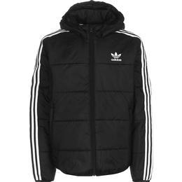 Adidas Kid's Padded Jacket - Black/White (GD2699)