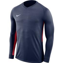 Nike Dry Tiempo Premier Longsleeves Men - Navy/Red