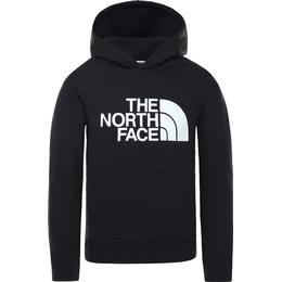 The North Face Youth Drew Peak Hoodie - TNF Black/Glow in The Dark (33H4)