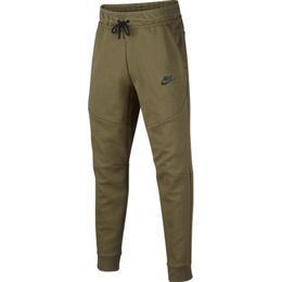 Nike Older Kid's Tech Fleece Trousers - Cargo Khaki/Black (CU9213-325)