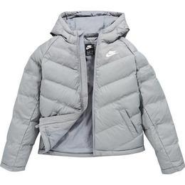 Nike Older Kid's Fill Jacket - Smoke Grey/Smoke Grey/Smoke Grey/White (CU9157-084)