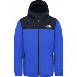 The North Face Boy's Warm Storm Rain Jacket - TNF Blue (3YAZ)