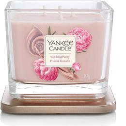 Yankee Candle Salt Mist Peony Medium 3 Wick Scented Candles