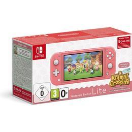 Nintendo Switch Lite - Coral - 2020 - Animal Crossing: New Horizons