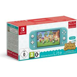 Nintendo Switch Lite - Turquoise - 2020 - Animal Crossing: New Horizons