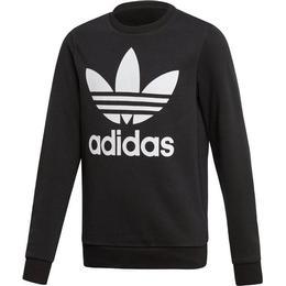 Adidas Trefoil Crew Sweatshirt - Black/White (ED7797)