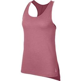 Nike Yoga Tank Top Women - Desert Berry/Heather/Light Arctic Pink/Light Arctic Pink