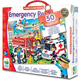 The Learning Journey Emergency Rescue 50 Pieces
