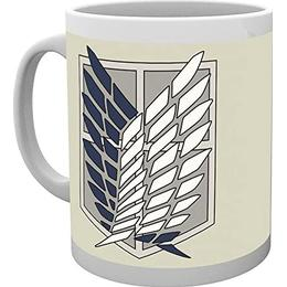 GB Eye Attack on Titan Badge Cup 30 cl