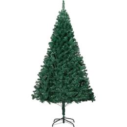 vidaXL Plastic Spruce 240cm Christmas tree Christmas decorations