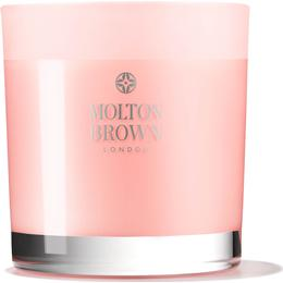 Molton Brown Delicious Rhubarb & Rose Three Wick Candle 480g Scented Candles