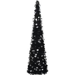 vidaXL Pop-up Plastic Spruce 180cm Christmas tree Christmas decorations