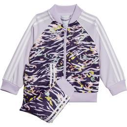 Adidas SST Track Suit - Dark Purple/Purple Tint/Multicolor/White (GD2857)