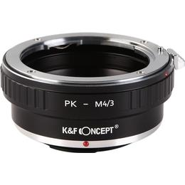 K&F Concept Adapter Pentax K To Micro Four Thirds Lens mount adapter