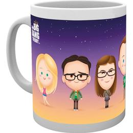 GB Eye The Big Bang Theory Characters Cup 30 cl