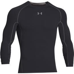 Under Armour HeatGear Armour Long Sleeve Compression Shirt - Black