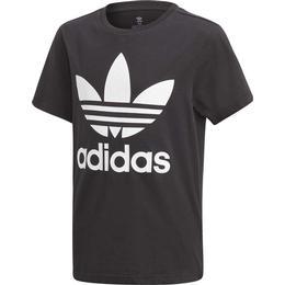 Adidas Kid's Trefoil Tee - Black/White (DV2905)
