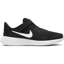 Nike Revolution 5 FlyEase GS - Black/White/Black/White