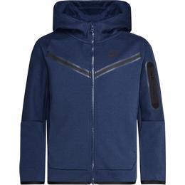 Nike Boy's Sportswear Tech Fleece - Midnight Navy/Black ( CU9223-410)