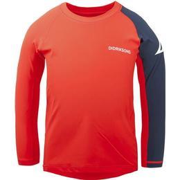 Didriksons Surf UV Sweater LS - Tile Orange (502949-359)