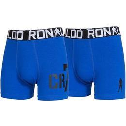 CR7 Boy's Trunk 2-pack - Blue/Black (8400-51-461)