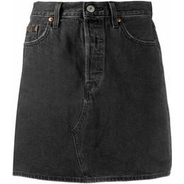 Levi's Levi's Levi's High Waisted Deconstructed Skirt - Regular Programming/Black
