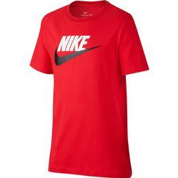 Nike Older Kid's Sportswear T-shirt - University Red/Black (AR5252-660)