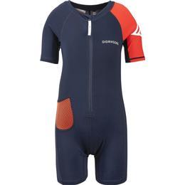 Didriksons Reef Kid's Swimming Suit - Navy (502948-039)