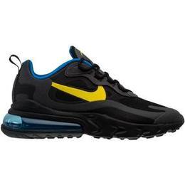 Nike Air Max 270 React M - Black/Tour Yellow-Dark Grey-Blue Spark