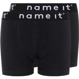 Name It Boxer Shorts 2-pack - Black/Black (13163616)