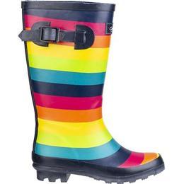 Cotswold Rainbow Wellington Boots - Multicolour