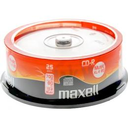 Maxell CD-R 700MB Spindle 25-Pack