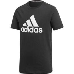 Adidas Boy's Must Haves Badge of Sport T-shirt - Black/White (DV0816)