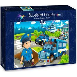 Bluebird Police Rescue Team 48 Pieces