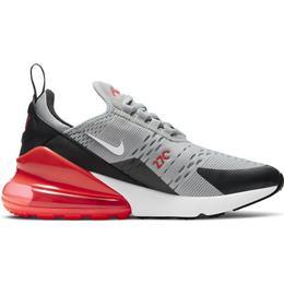 Nike Air Max 270 GS - Light Smoke Grey/Dark Smoke Grey/Bright Crimson/White