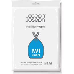 Joseph Joseph IW1 Custom Fit 36L Bin Liners 20-pack
