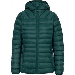 Trespass Trisha Women's Packaway Down Jacket - Forest Green