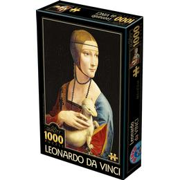 Dtoys Lady with An Ermine 1000 Pieces