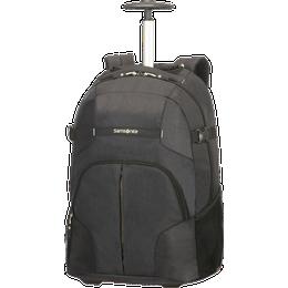 """Samsonite Rewind Laptop Backpack with Wheels 16"""" - Black"""