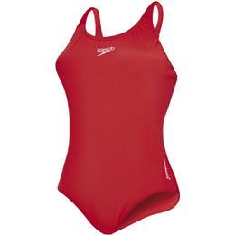Speedo Essential Endurance+ Medalist Swimsuit - Red